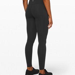 lululemon athletica Pants & Jumpsuits - Lululemon wunder under hr tight brushed 28